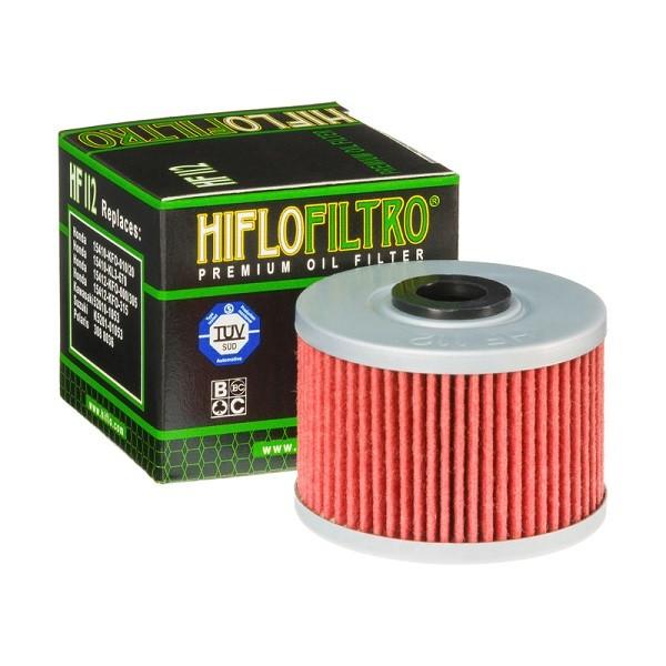 Фильтр масляный HIFLOFILTRO HF112 для мотоцикла Honda, Kawasaki