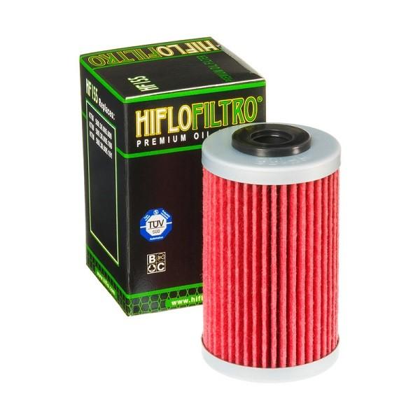 Фильтр масляный HIFLOFILTRO HF155 для KTM, Husquarna, Polaris