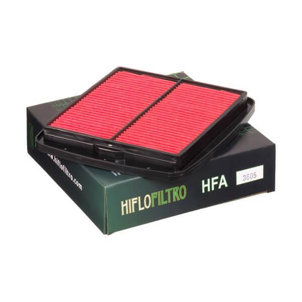 Фильтр воздушный HIFLOFILTRO HFA3605 для мотоцикла (GSF600 Bandit, GSF1200, GSX-R600, GSX-R750)