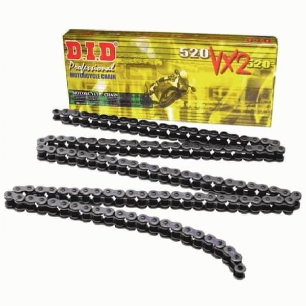 Цепь приводная DID 525VX (X-ring) black 110 звеньев для мотоцикла