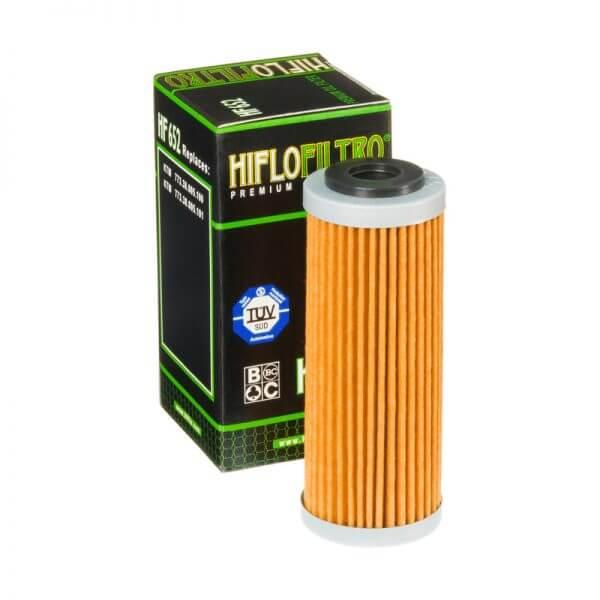 Фильтр масляный HIFLOFILTRO HF652 для мотоцикла KTM, Husqvarna