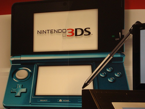 Nintendo 3ds with R4i Cards