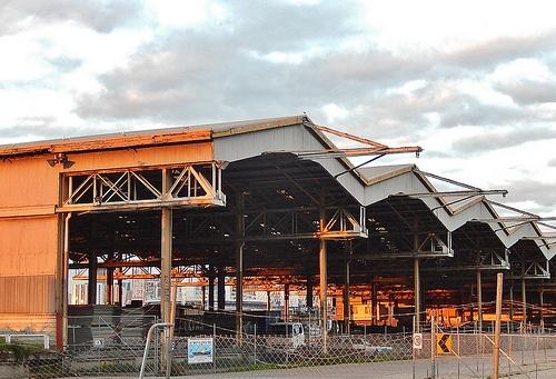 Industrial sheds