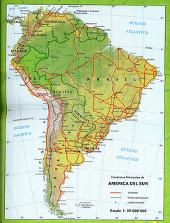 South America Tourist Card
