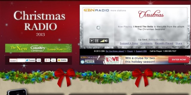 CBN Christian Christmas Radio