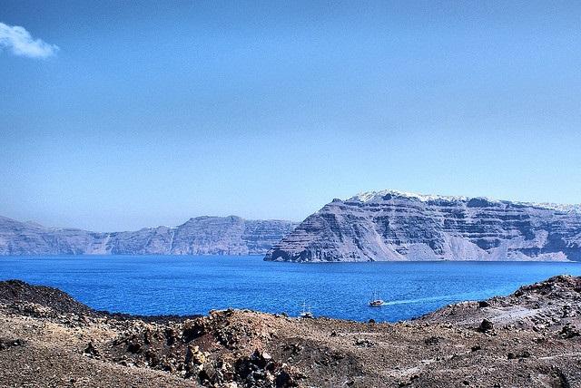 Volcanic Island, Santorini