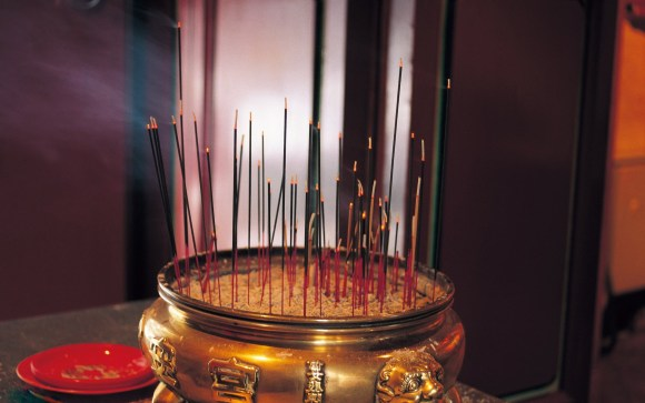 burn incense