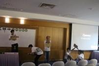 11.學員們也呈現戲劇表演,表達各種禪門小故事