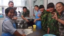 同學做印度煎餅