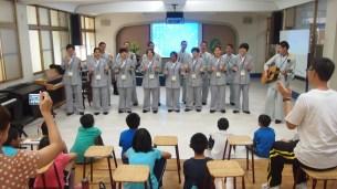 同學於大慈育幼院表演