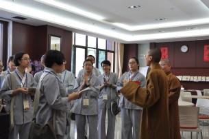 2014-06-11-馬來西亞同學來于東禪客堂知主法師講解