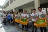 同日佛学班体验新马寺一花一草的生态教育