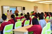 同學們參加《人間佛教生命探索教育體驗》隊輔培訓