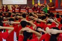 臺灣羅淑真老師以《好自在》歌曲教導學生瞭解團康得意義、帶領技巧與功能。