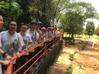 佛学院与周日班一同前往椰壳洞探险
