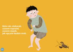 bajki dla dzieci: rak nieborak