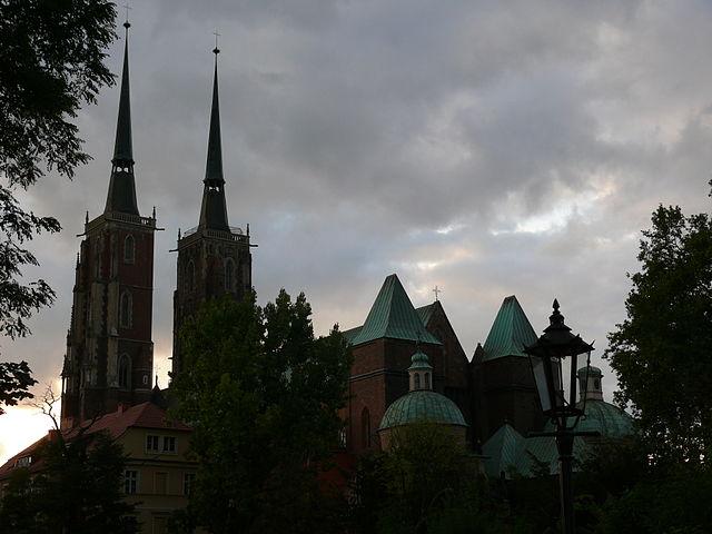 Ścieżki Miłosierdzia, Stacja I, Katedra Wrocławska