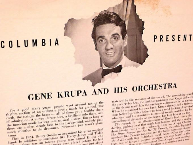 Gene Krupa and his Orchestra, Columbia Rec. z kolekcji PMA fot. Iwona Bożek