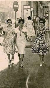Kobiety w Egipcie, lata 50-te, źródło: pinterest