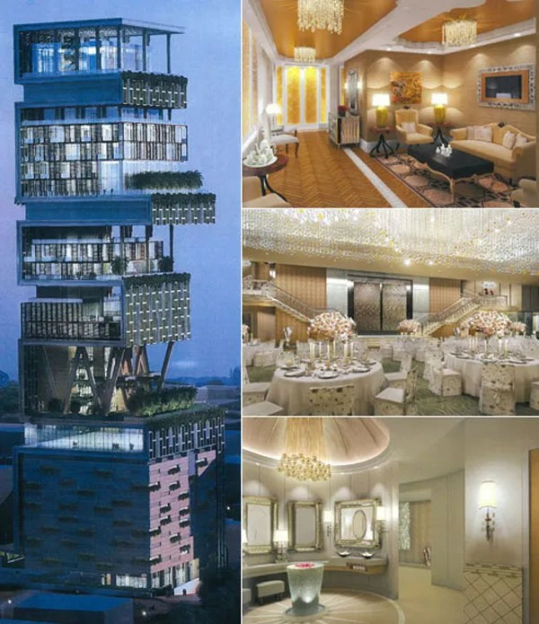 Http Dzinetrip Com Antilia In Mumbai India The Most Expensive House In The World