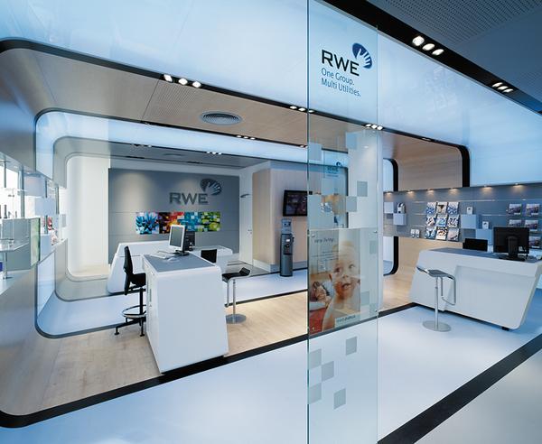 energy cells rwe customer service centre by d 39 art design gruppe. Black Bedroom Furniture Sets. Home Design Ideas