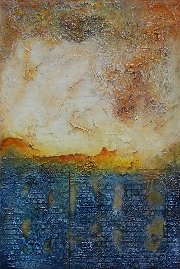 Mixed Media Paintings by Artist Andrada Anghel