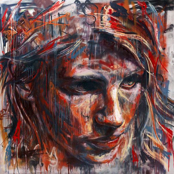 Street art - http://dzinetrip.com/spray-painted-portraits ...