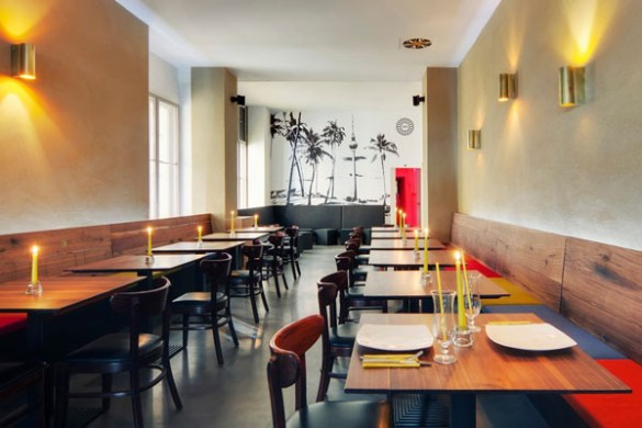 http   dzinetrip com idli restaurant indian restaurant in berlin by     Berlin invites you to a journey into the lands of South India  Idli  Restaurant by Spamroom