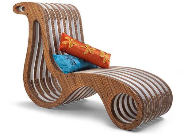 modular cardboard chair by designer giorgio caporaso rh dzinetrip com