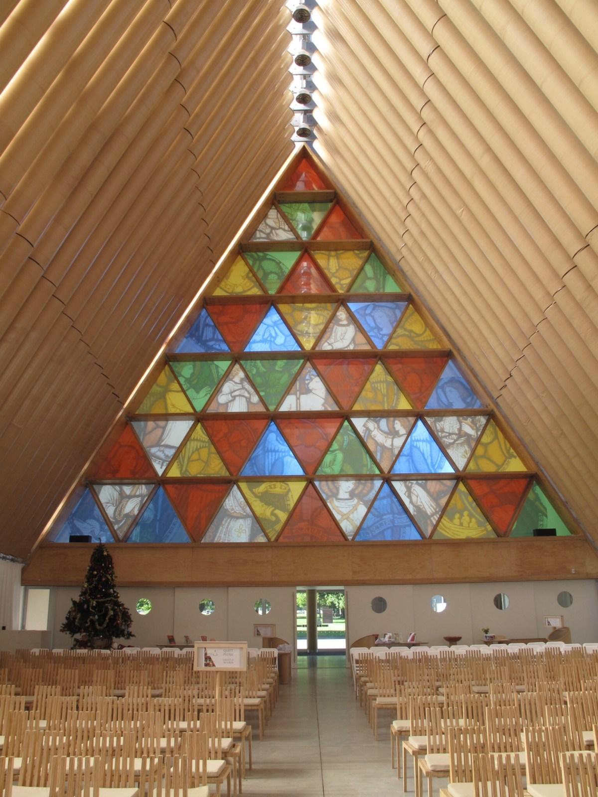 Cardboard Cathedral by Japanese architect Shigeru Ban - 04