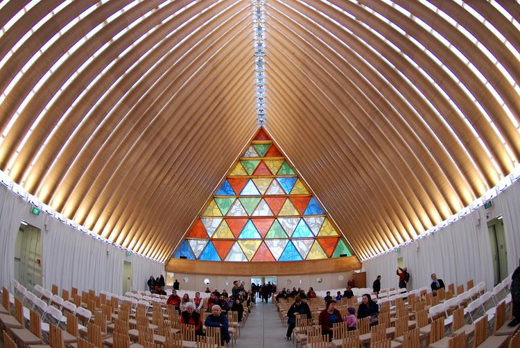 Cardboard Cathedral by Japanese architect Shigeru Ban - 06