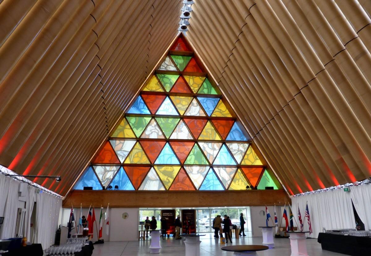 Cardboard Cathedral by Japanese architect Shigeru Ban - 07