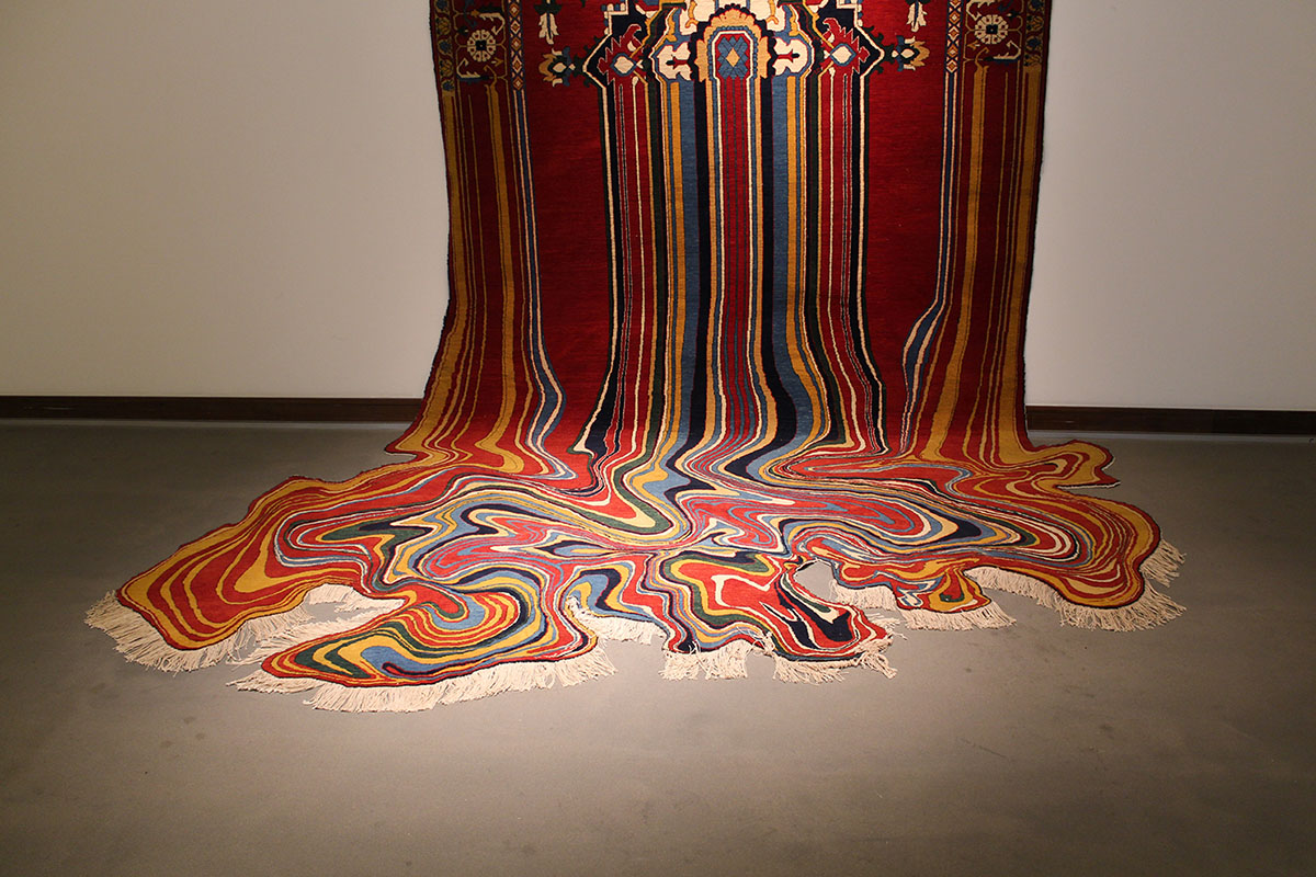 Faig Ahmed's modern interpretations of traditional carpet design -09