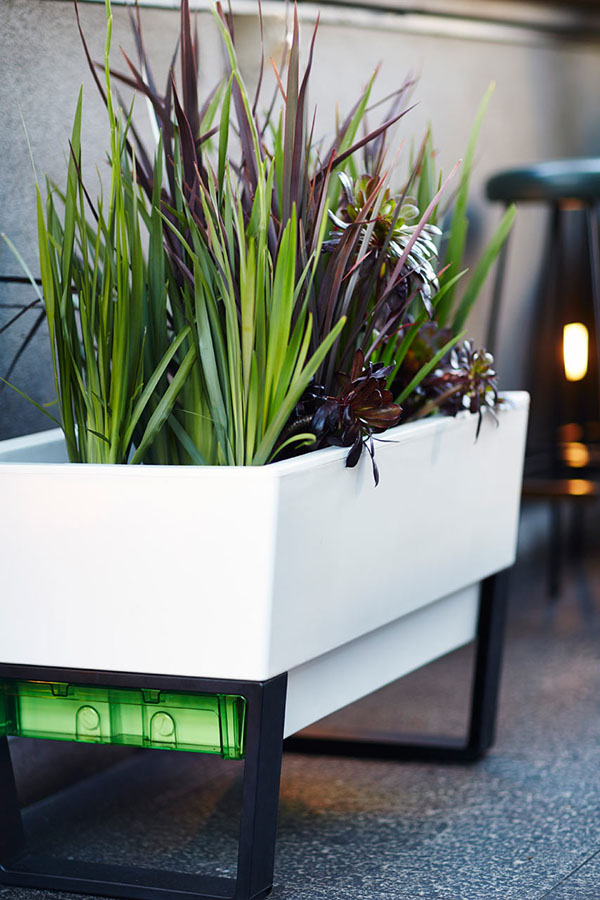 Outdoor Self Watering Planter