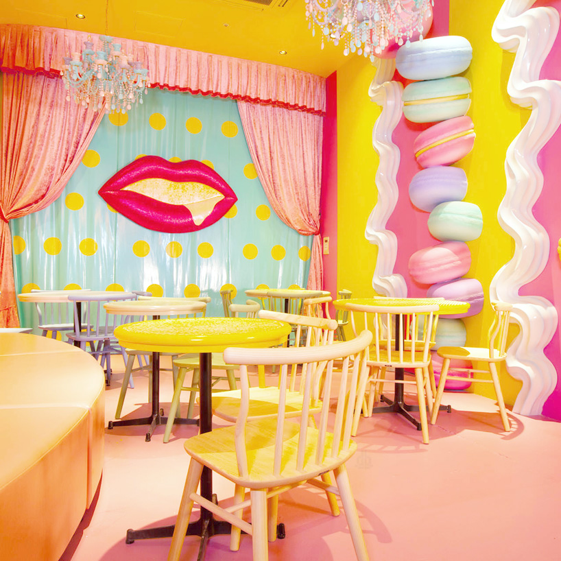 Kawaii Monster Cafe in Japan by Artist Sebastian Masuda - 08