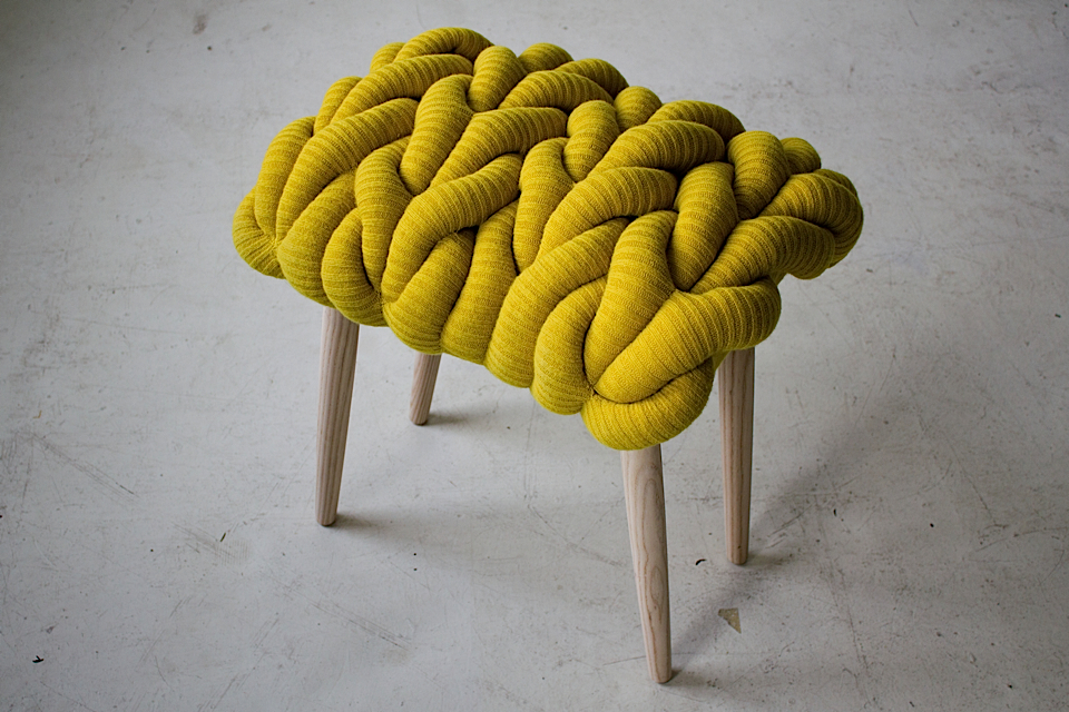 Knitted Stools by Claire-Anne O-Brien - 03