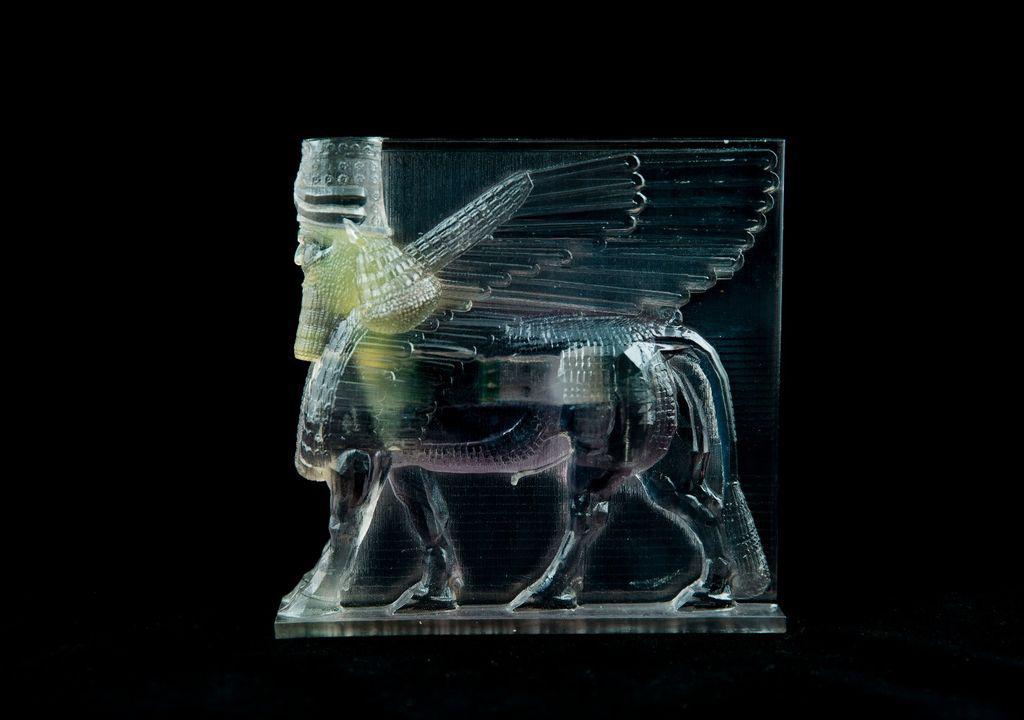 Lamassu 3D replica