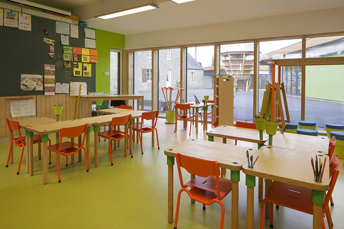 Le Ble en Herbe Scool in France by Designer Matali Crasset - 09
