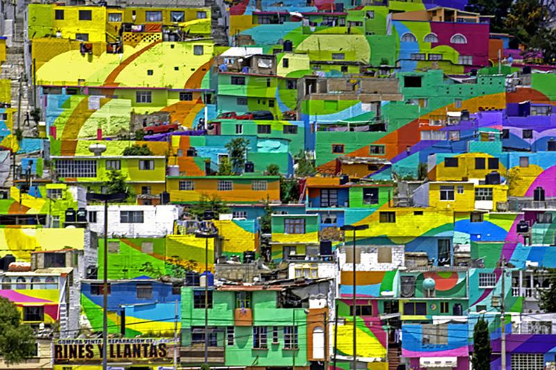 Macro Mural in Mexico by Germen Crew - 05