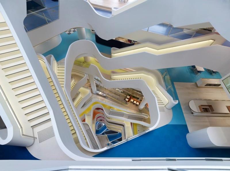 哈塞尔工作室设计世界上最健康的工作场所