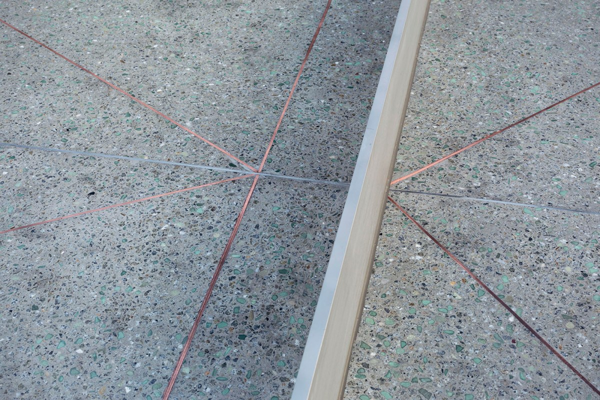 Monoliths - A concrete sculptural Ping Pong Table and Bench - 05