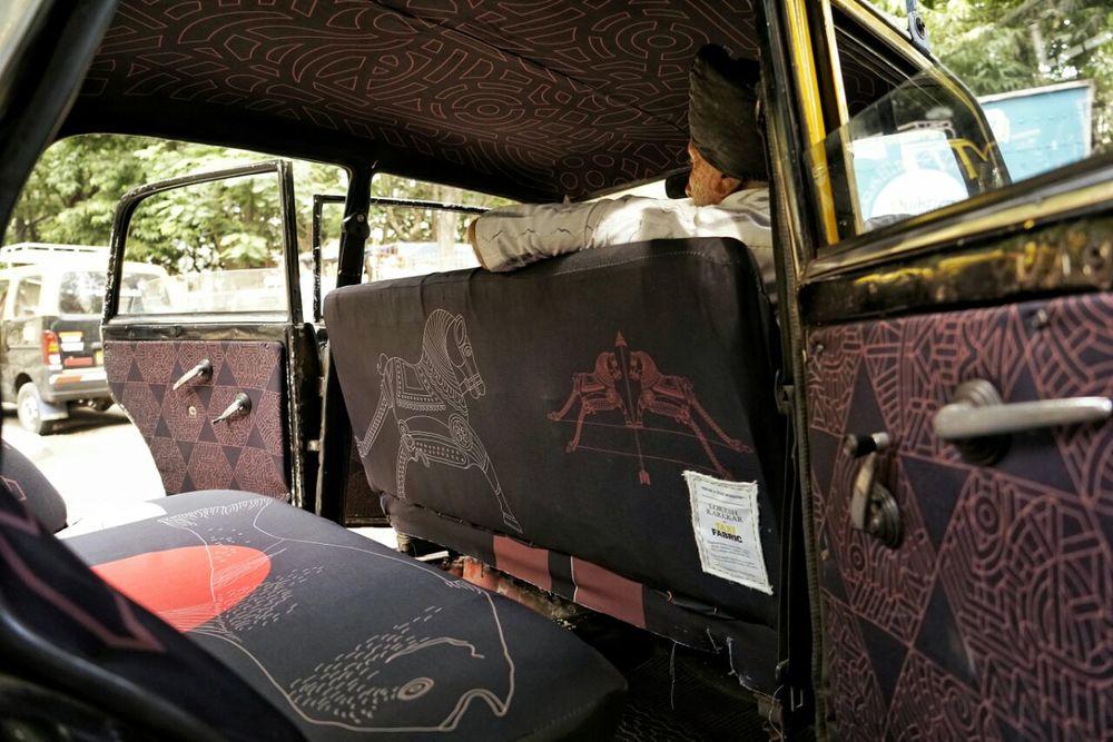 Mumbai Taxi Fabric Project - 06