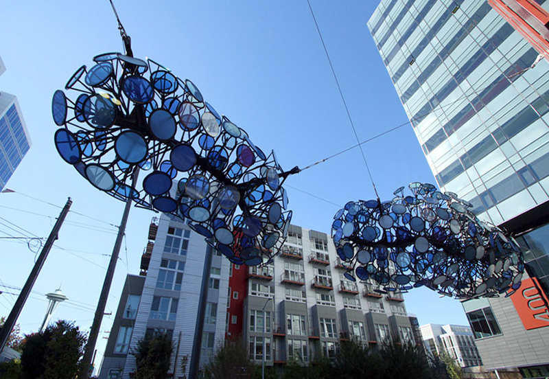 Nebulous - Light Installation by Dan Corson - 03