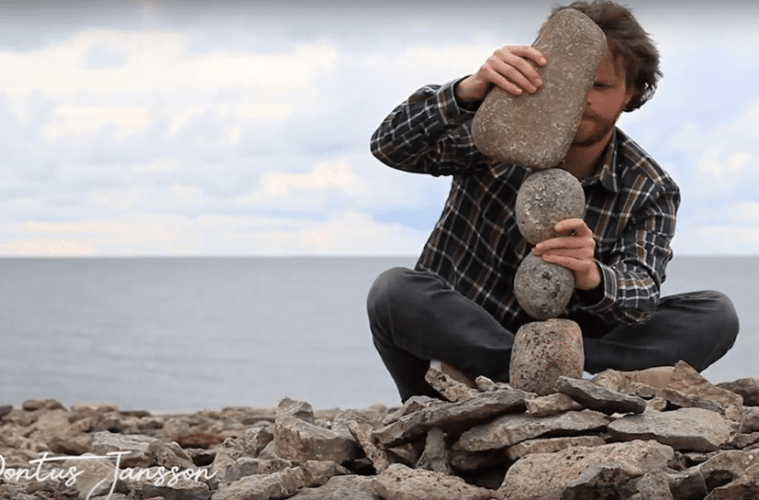 Video And Interview Of Rock Balancing Artist Pontus Jansson