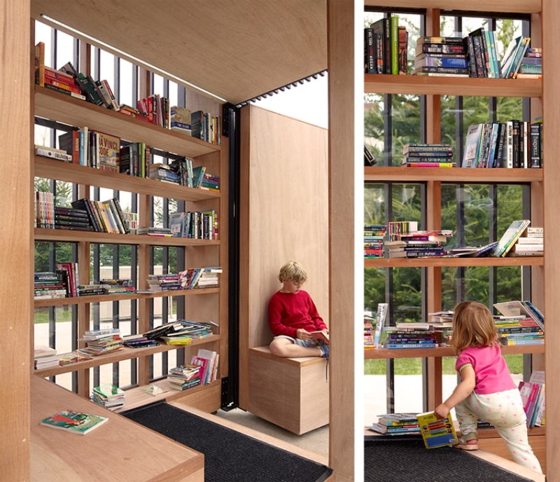 Story Pod - Miniature Library in the suburb of Toronto - 06