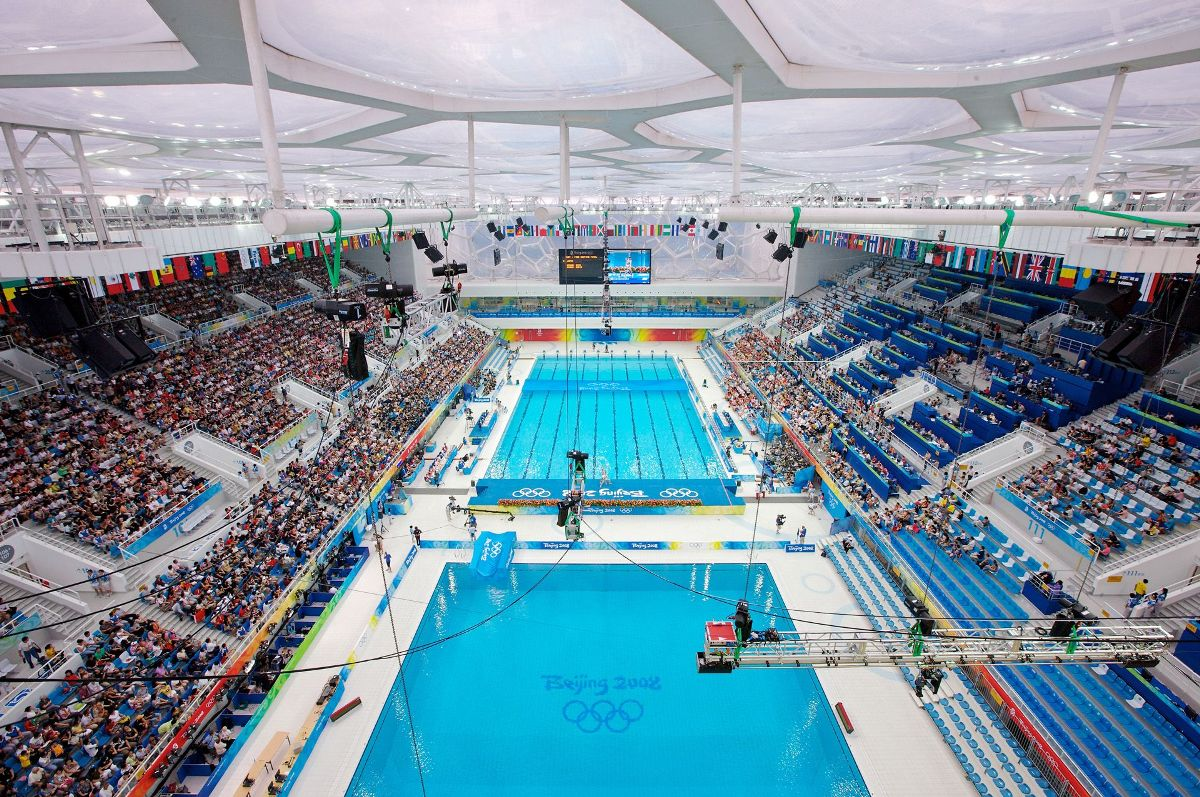 The Watercube at the Olympics Games in China - 05