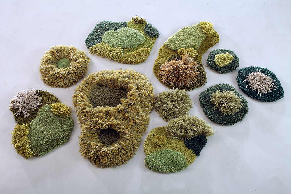Wool carpets and area rugs by artist Alexandra Kehayoglou - 04