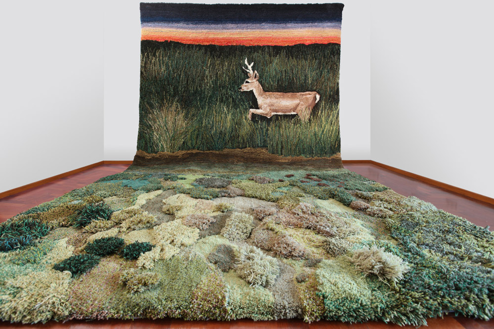 Wool carpets and area rugs by artist Alexandra Kehayoglou - 05