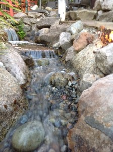 Rushing Water adds soothing sound to your outdoor living space