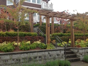 Welcome your guests with a beautiful arbor